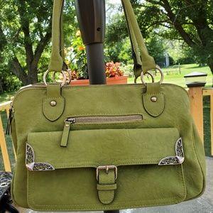 Green Bueno satchel